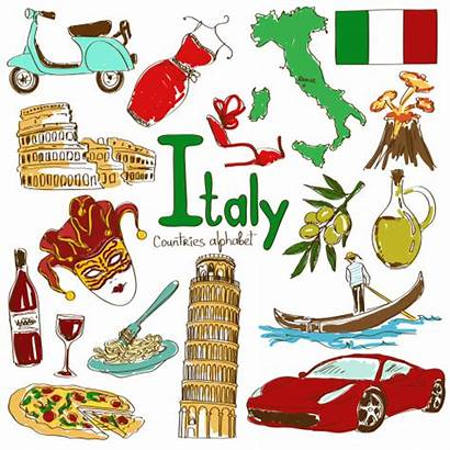 Culture Clipart Italian Italy Map Clipground