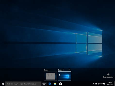 bureau windows 8 comment utiliser les bureaux virtuels de windows 10