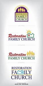 Restoration Family Church Logo by realizedesignsjason on ...