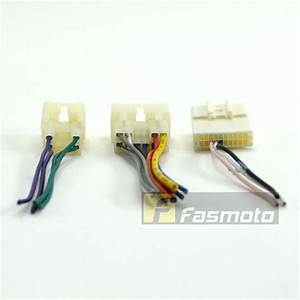 Toyota Car Stereo Harness Adapter With 20 Pin Steering Control Adapter