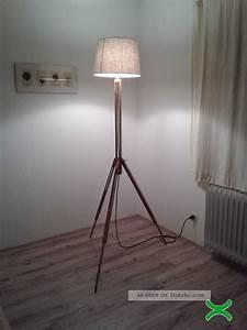 Shabby Chic Stehlampe : design lampe stehlampe bauhaus tripod lamp kugel architekt shabby chic holz ~ Sanjose-hotels-ca.com Haus und Dekorationen