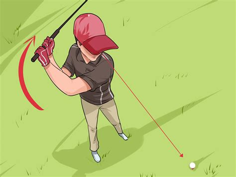 swing club the best way to swing a golf club wikihow