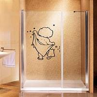 lovely love wall decals Aliexpress.com : Buy lovely baby love shower wall stickers bathroom glass door stickers cute ...