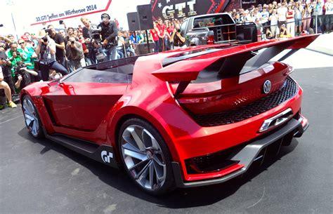 volkswagen gti roadster concept la auto show car tavern