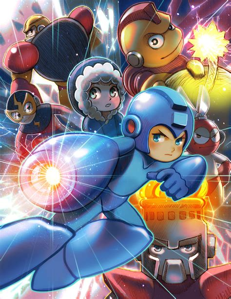 Mega Man Tribute By Jaimito On Deviantart