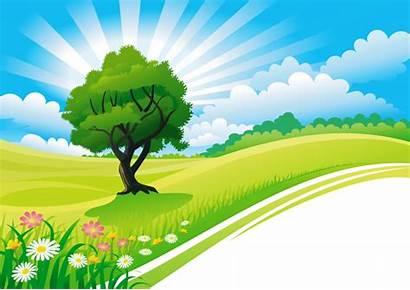 Clipart Nature Scenery Landscape Paisajes Fondos Transparent