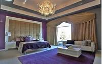 fine bedroom accent wall 25 Gorgeous Purple Bedroom Ideas - Designing Idea