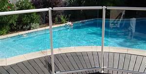 Barriere Protection Piscine : barri re de piscine aluminium pacoha garde corps barri res menuiserie alu profils systemes ~ Melissatoandfro.com Idées de Décoration