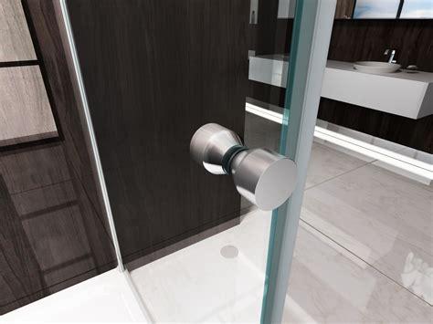 box doccia a parete box doccia parete fissa e porta a libro soffietto h195