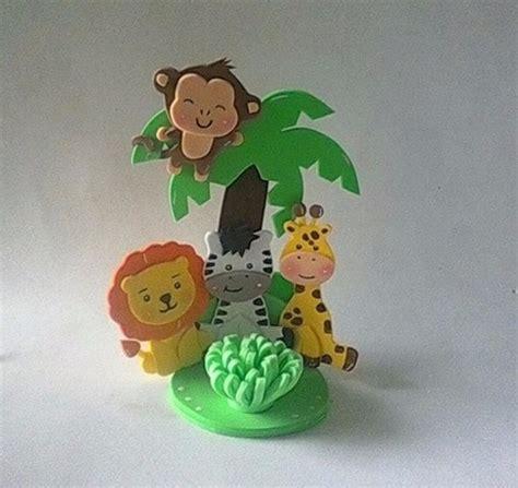recuerdo figuras en foami animales de la selva o safari bs 1 800 00 en mercado libre