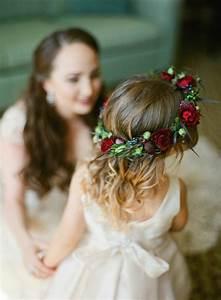 Couronne De Fleurs Mariage Petite Fille : 1001 id es pour la robe petite fille d 39 honneur pour choisir la meilleur ~ Dallasstarsshop.com Idées de Décoration
