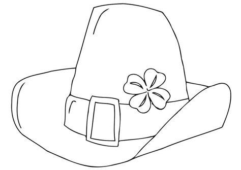 dibujo para colorear sombrero d 237 a de san patricio 21707