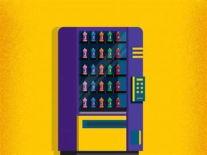 Vending Machine Dribbble Pixel Meal