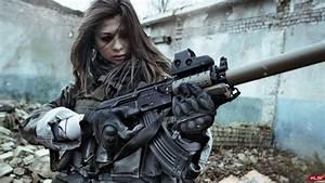 Girls Guns Weapon Gun Sexy Babe Fetish Girl Girls Women Woman Female Warrior Shooter Action