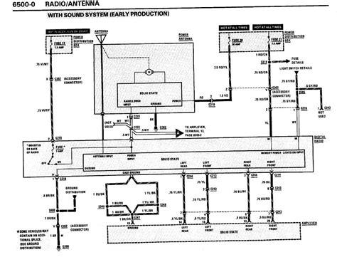 stock radio wiring diagram