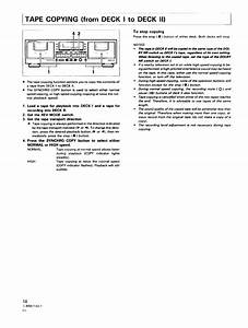 Page 18 Of Pioneer Cassette Player Ct