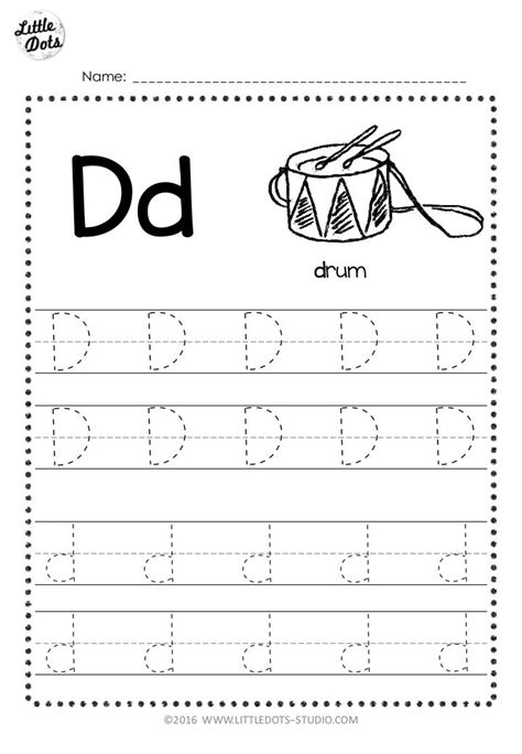 letter  tracing worksheet  preschool