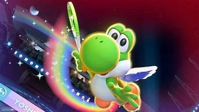 Mario Tennis Aces Yoshi Losing Pose Sad
