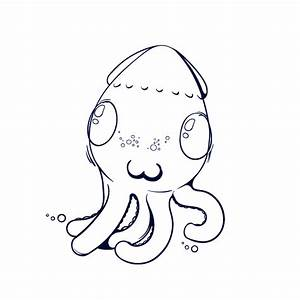 Learn How to Draw an Octopus - Step by Step Tutorial