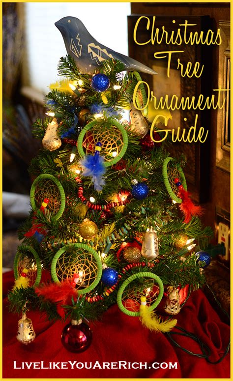 christmas tree ornament guide live like you are rich
