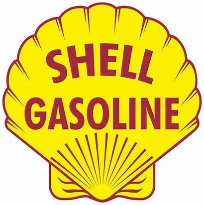 Shell Gasoline Logos Vector Gas Station Svg