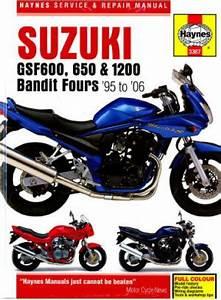 Haynes Suzuki Gsf600 Gsf1200 Bandit 1995