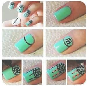 Nail art step by designs for beginners