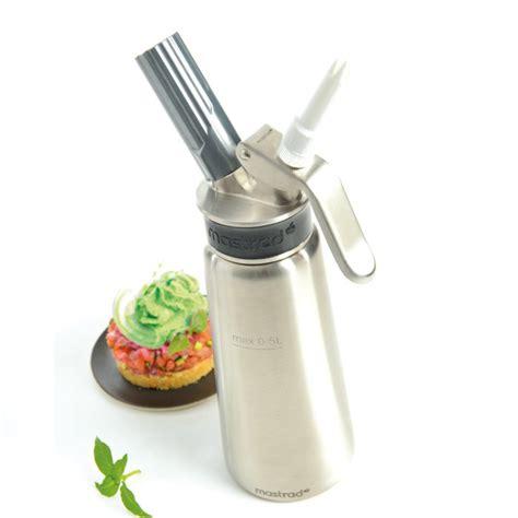 siphon cuisine mastrad siphon inox mastrad 0 50 litre colichef
