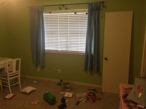 should curtains be floor length in this room