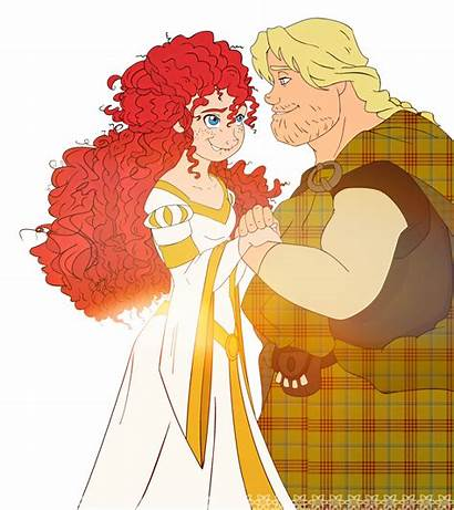 Merida Brave Macguffin Young Detectives Weasley Disney