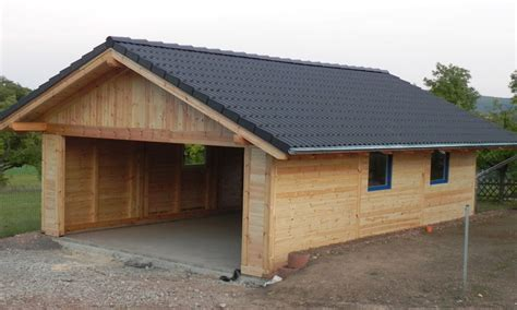 Holzgarage, Holzgaragen Als Individueller Bausatz