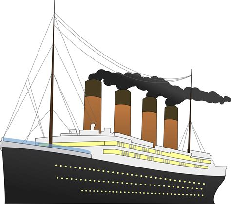 Titanic Boat Png by Titanic Boat Clipart