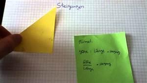 Steigungen Berechnen : steigungen berechnen mathematik einfach erkl rt youtube ~ Themetempest.com Abrechnung