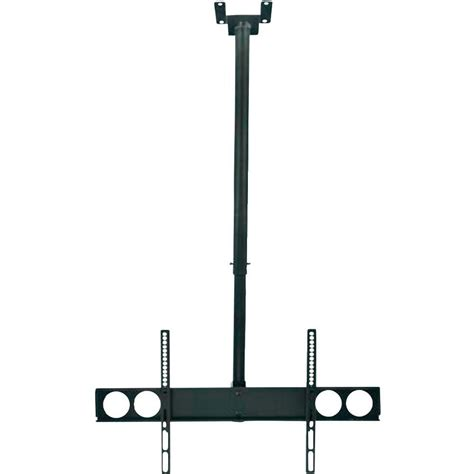 support tv pour plafond manhattan 423625 156 cm inclinable