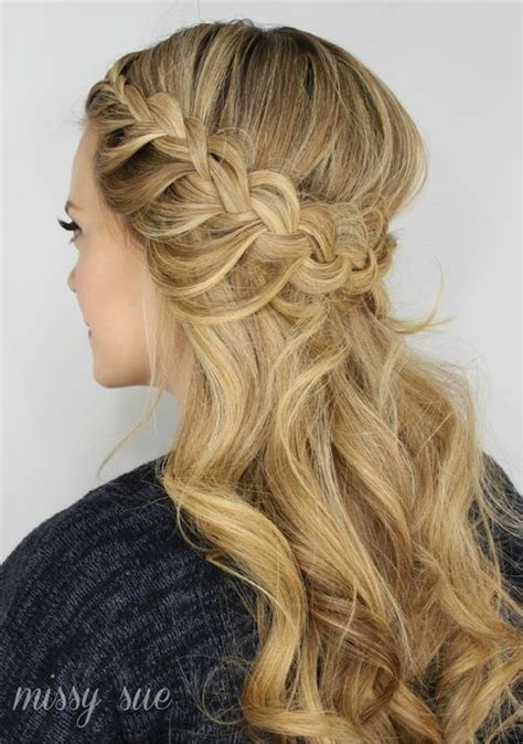 half up hair 17 half up wedding hairstyles tania maras bespoke wedding headpieces