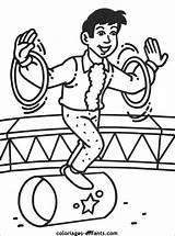 Circus Coloring Acrobat Cirque Google Coloriage Theme Printable Du Thema Jongleurs Cabaret 1988 Afkomstig Van sketch template