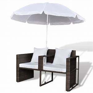 Rattan Lounge Set Braun : der gartenlounge poly rattan lounge set gartengarnitur braun online shop ~ Bigdaddyawards.com Haus und Dekorationen