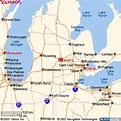Maps to East Lansing
