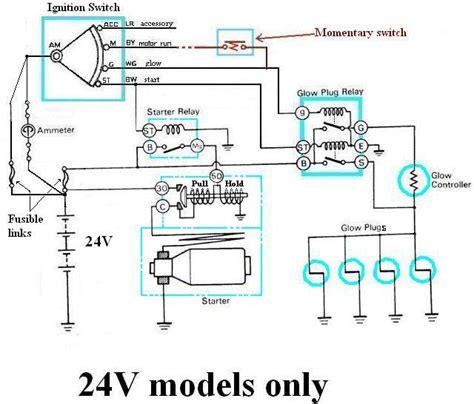 internal wiring  bjbjhj glow relay manual glow