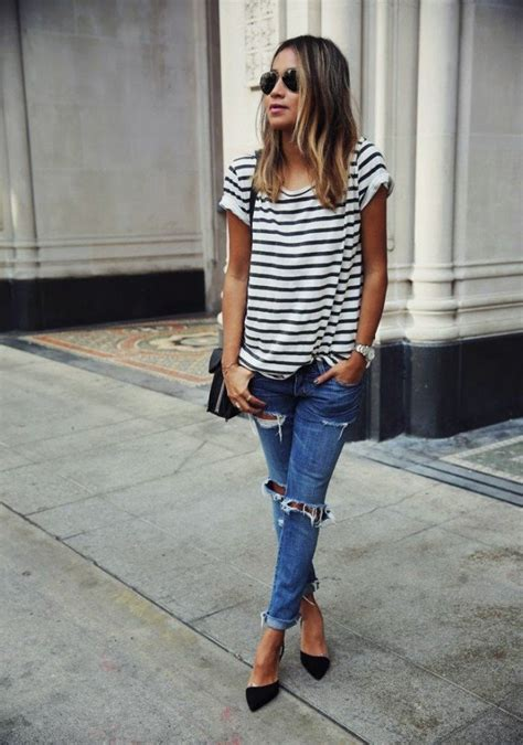 ripped jeans outfit thatll     wear
