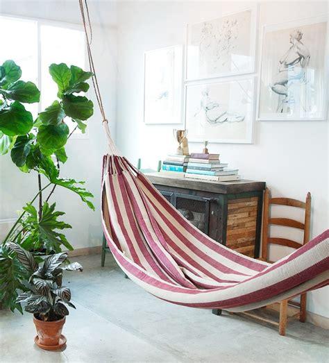 Indoor Hammocks by Indoor Hammock Ideas For Year Summer Atmosphere