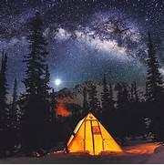 British Columbia  Cana...Camping Night Stars