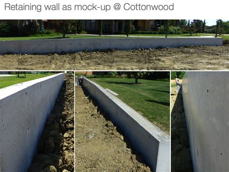 retaining wall architecture cast in place smooth architectural concrete walls in the detailsconstructive