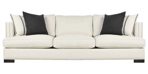 Three Sofa Set by Three Seater Sofa Set With Trimmed Arms