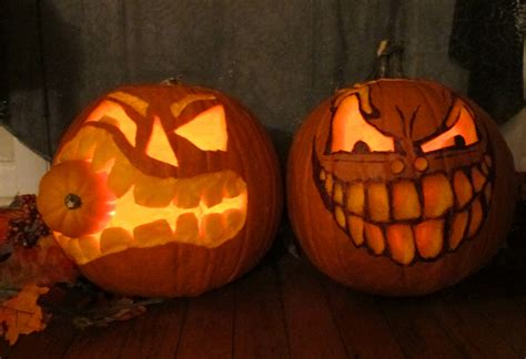 really scary pumpkins scary pumpkin monsters the party event