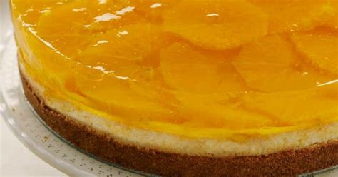 citrus gelatin layered cheesecake  favorite desserts