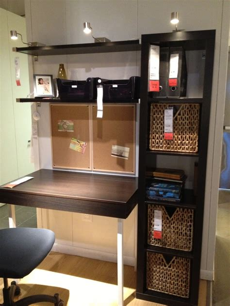 desks with storage for small spaces ikea desk good storage set up for a small space home office pinterest ikea desk storage