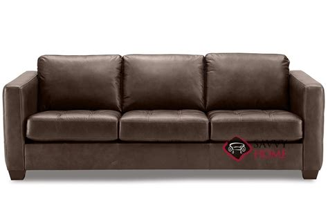 Barrett Leather Sofa By Palliser Is Fully Customizable By