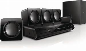 Philips HTD3509 300W Powerful Surround Sound Full HD 5.1 ...