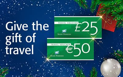 buy irish ferrries travel vouchers gift vouchers